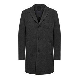 Only & Sons Přechodný kabát  tmavě šedá