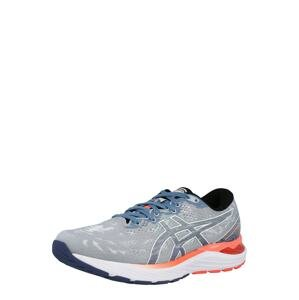 ASICS Běžecká obuv  šedá / oranžová / chladná modrá
