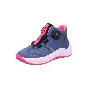 SUPERFIT Tenisky 'Bounce'  chladná modrá / pink / černá / světle šedá