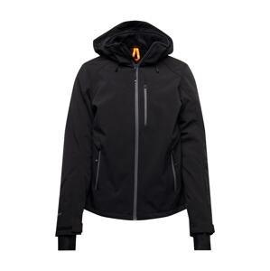 BRUNOTTI Outdoorová bunda 'Marsala'  černá / šedá
