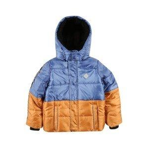 ESPRIT Zimní bunda  modrá / hnědá