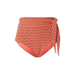 Seafolly Spodní díl plavek 'Chilli'  bílá / červená / oranžová