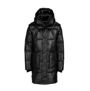 Young Poets Society Zimní kabát  černá