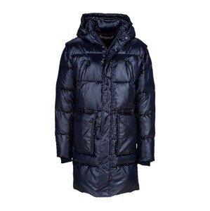 Young Poets Society Zimní kabát  safírová