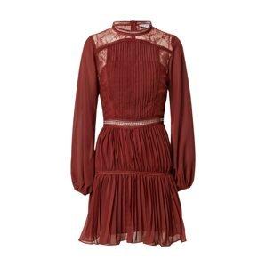 True Decadence Koktejlové šaty  krvavě červená