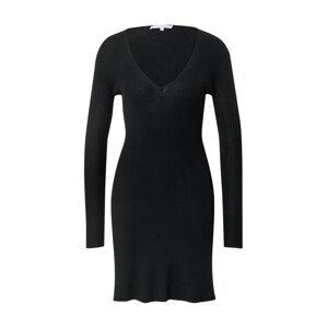 PATRIZIA PEPE Úpletové šaty  černá / béžová