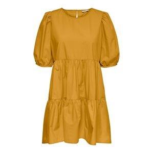 ONLY Šaty  zlatá