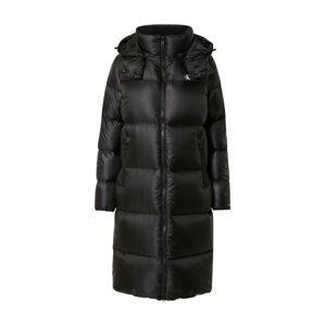 Calvin Klein Jeans Zimní kabát  černá / bílá