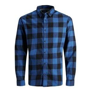 Jack & Jones Junior Košile 'Gin'  tmavě modrá / námořnická modř
