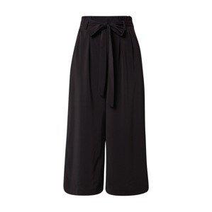 mbym Kalhoty se sklady v pase 'Annelot'  černá