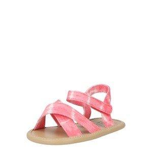 GAP Sandály  pink / bílá