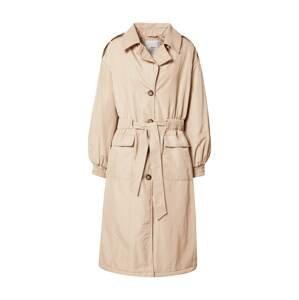 minimum Přechodný kabát  béžová