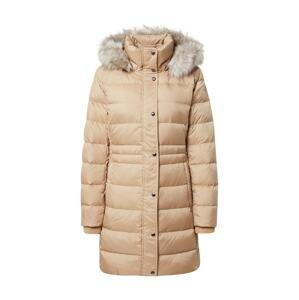 TOMMY HILFIGER Zimní kabát 'Tyra'  champagne / tělová