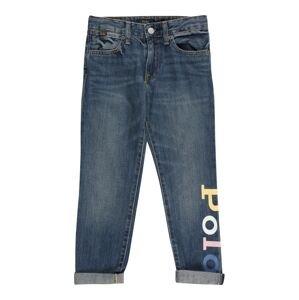 Polo Ralph Lauren Džíny 'ASTOR'  modrá džínovina / světle růžová / mátová / námořnická modř / fialová
