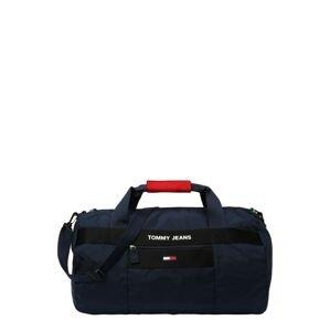 Tommy Jeans Taška Weekender  námořnická modř / černá / červená / bílá