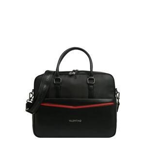 Valentino Bags Taška na notebook 'FIR'  černá / červená