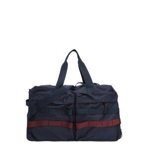 TOM TAILOR Cestovní taška 'JOAQUIN'  tmavě modrá / tmavě červená