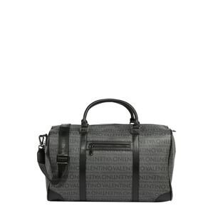 Valentino Bags Cestovní taška 'FUTON'  černá / šedá