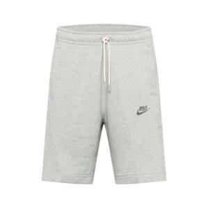 Nike Sportswear Kalhoty  šedý melír