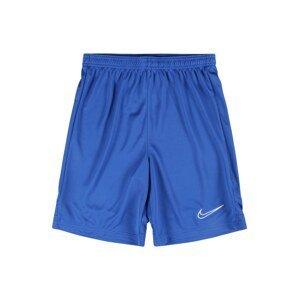 NIKE Sportovní kalhoty  bílá / modrá
