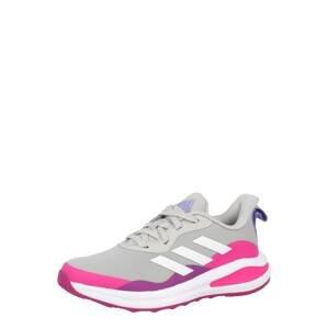 ADIDAS PERFORMANCE Sportovní boty 'FortaRun Lace'  šedá / pink / fialová / bílá