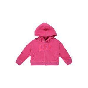 GAP Fleecová mikina  pink