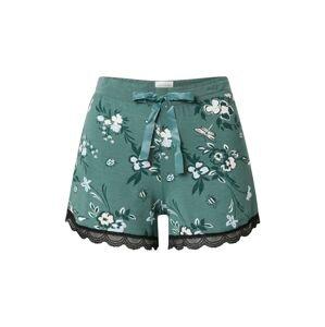 SCHIESSER Pyžamové kalhoty  khaki / mix barev