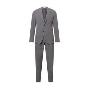 BOSS Oblek 'P-Hanry-WG-214'  šedý melír