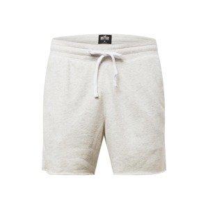 HOLLISTER Kalhoty 'MH SOLID SHORT CHAIN 4CC'  světle šedá