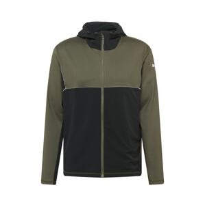 PUMA Sportovní bunda  tmavě zelená / černá