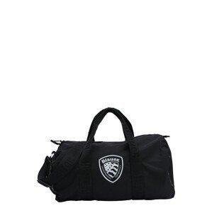 Blauer.USA Cestovní taška 'Dakota'  černá / bílá