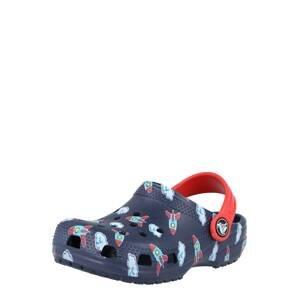 Crocs Plážová/koupací obuv  námořnická modř / světlemodrá / bílá / tyrkysová / červená