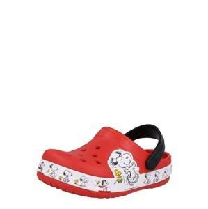 Crocs Plážová/koupací obuv  červená / mix barev