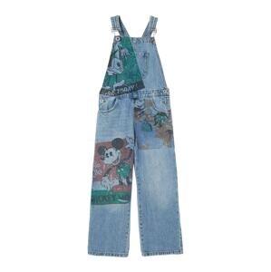 Desigual Laclové kalhoty 'DENIM_VI'  modrá / mix barev