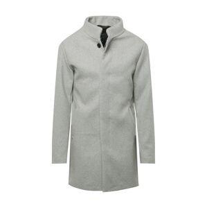 JACK & JONES Přechodný kabát 'Connor'  šedý melír