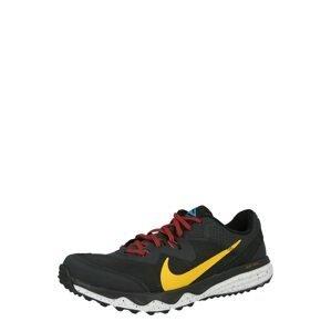 NIKE Běžecká obuv 'Juniper'  černá / žlutá / modrá / červená
