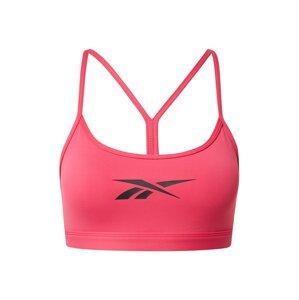 Reebok Sport Sportovní podprsenka  pink / černá
