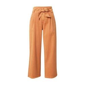 ROXY Kalhoty se sklady v pase  oranžová