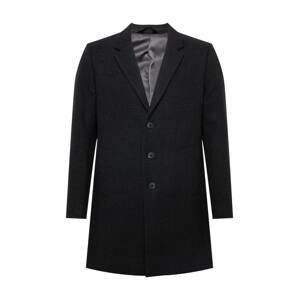JACK & JONES Přechodný kabát  černá