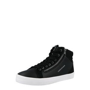 Calvin Klein Kotníkové tenisky  černá