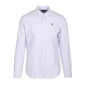 Scalpers Košile  světlemodrá / bílá