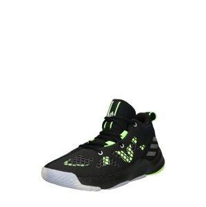 ADIDAS PERFORMANCE Sportovní boty  černá / svítivě zelená