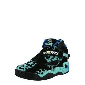 Patrick Ewing Kotníkové tenisky  černá / aqua modrá