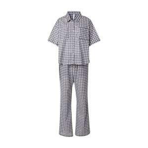 Cotton On Body Pyžamo  černý melír / bílá