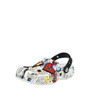 Crocs Sandály  bílá / mix barev