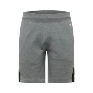 Champion Authentic Athletic Apparel Kalhoty  šedý melír / červená / černá / bílá