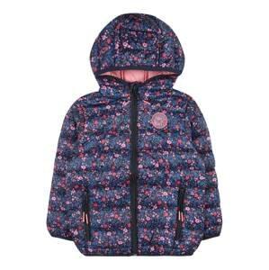 STACCATO Přechodná bunda  tmavě modrá / petrolejová / růžová
