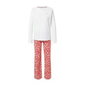 Tommy Hilfiger Underwear Pyžamo  bílá / červená / mix barev