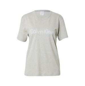 Calvin Klein Underwear Tričko na spaní  pastelová modrá / světle šedá