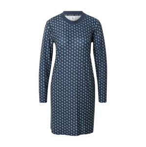 Calvin Klein Underwear Noční košilka  tmavě modrá / bílá